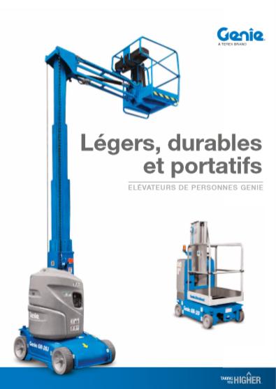 pdf picture from Brochure élévateurs de personnes Genie