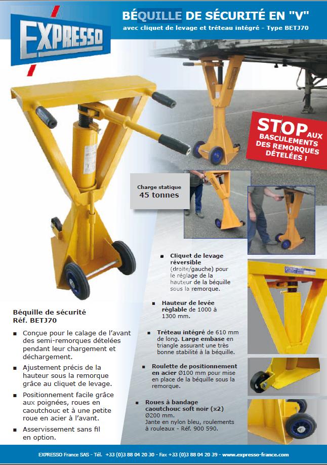pdf picture from Béquille de sécurité en V pour remorque camion EXPRESSO