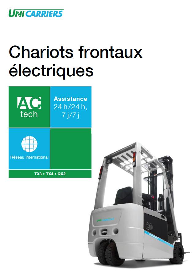 pdf picture from Brochure chariots frontaux électriques Unicarriers