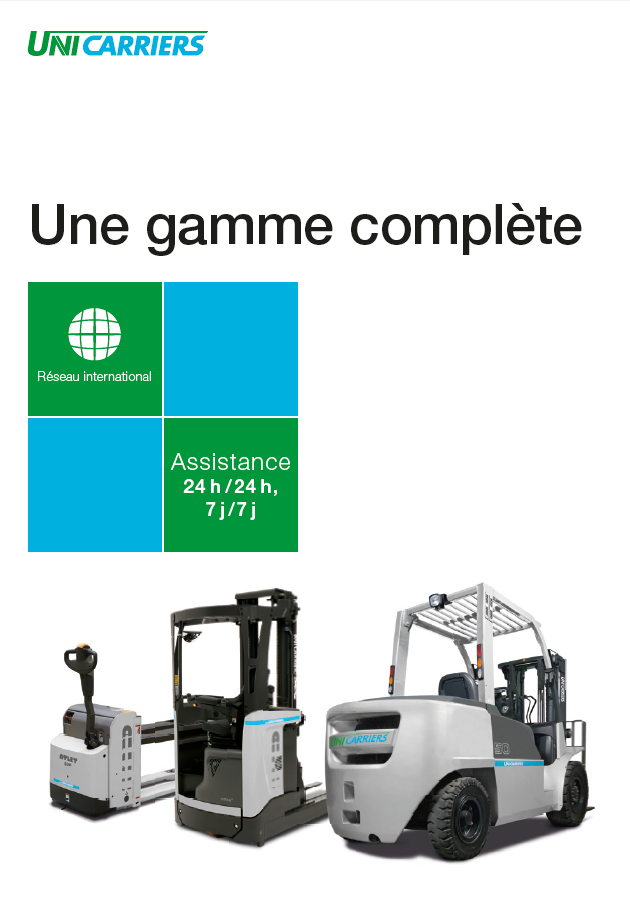 pdf picture from Brochure gamme complète chariots Unicarriers