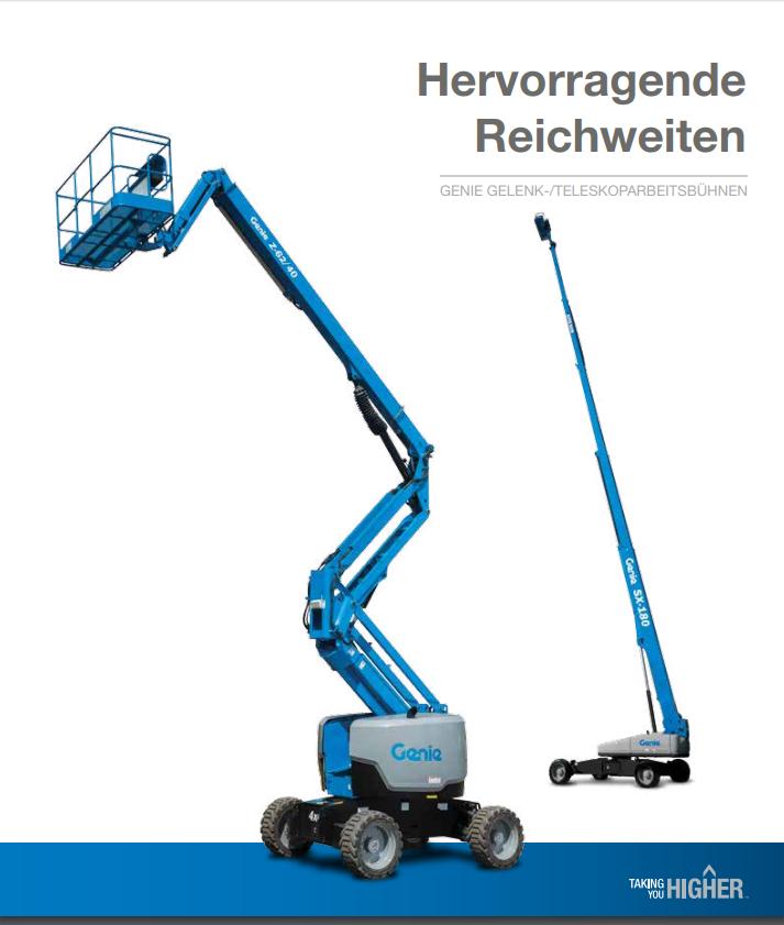 pdf picture from Gelenk-/Teleskoparbteitsbühnen