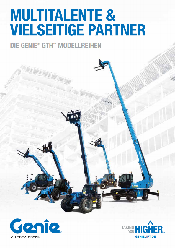 pdf picture from Genie GTH Modellreihe