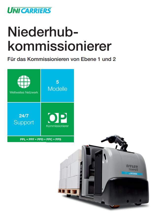 pdf picture from Niederhubkommissionierer Broschüre