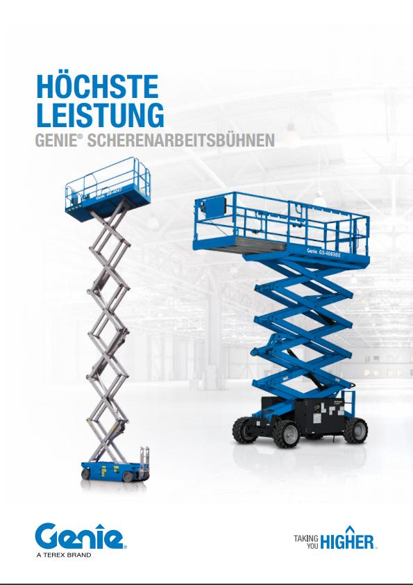 pdf picture from Scherenarbeitsbühnen - Brochüre
