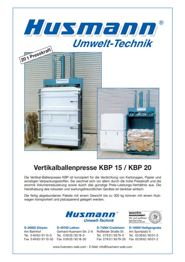 pdf picture from KBP Vertikalballenpresse